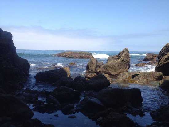 Dana Point, Califórnia: LOW TIDE, YES WERE WAY OUT