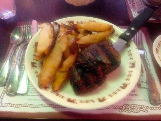 Rod's Steak House: The food