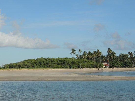 Praia De Maracaipe : Paseo en Jangada