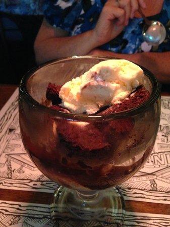 Geddys: Brownie Fudge Sundae