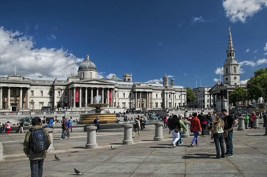 Galería Nacional: Trafalgar Square, National Gallery
