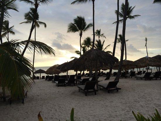 Dreams Palm Beach Punta Cana: Preferred Beach at Sunrise