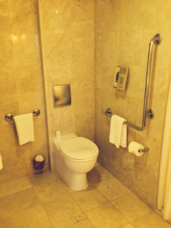 Stamford Plaza Brisbane: Wheelchair access room bathroom