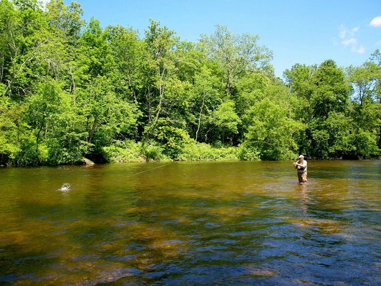 Big Big on the Battenkill : kayak   tubing   river Battenkill Arlington   VT Green Mountains  fly fishing Orvis Manchester r