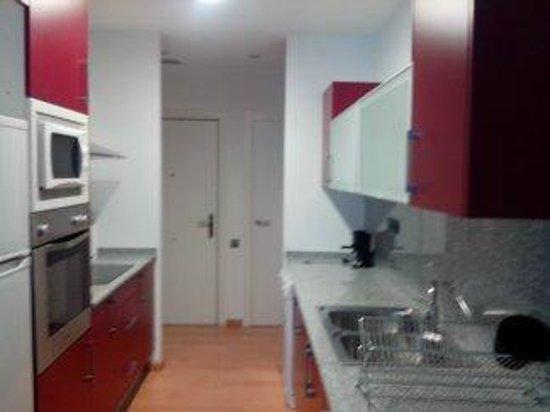 Casa-nova Apartaments: Cozinha
