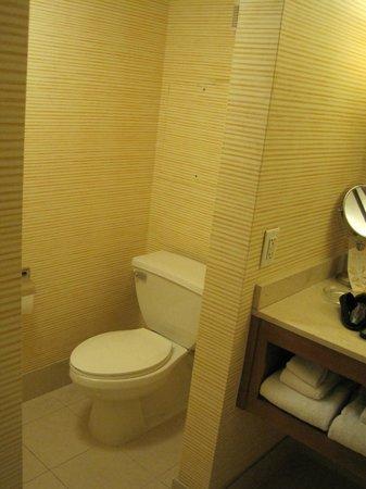 Tropicana Las Vegas - A DoubleTree by Hilton Hotel : Bathroom toilet