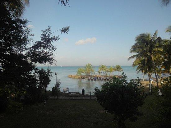 Canella Beach Hotel-Restaurant : vue mer