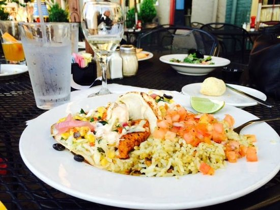 Byers Street Bistro : Fish Tacos