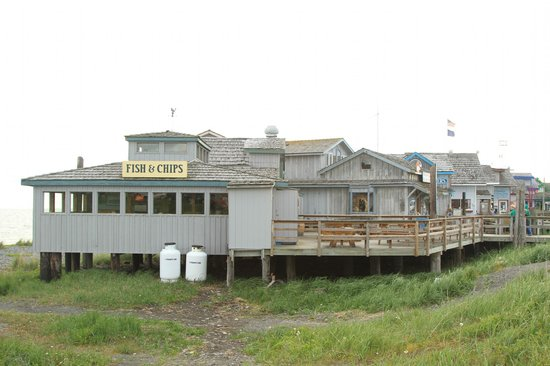 Boardwalk Fish & Chips: View of the side/back