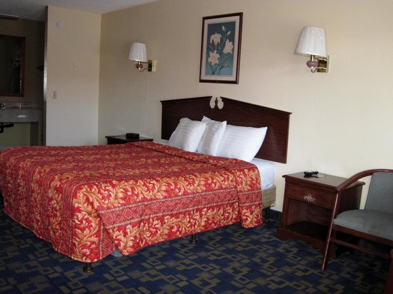 Rodeway Inn: Room with king bed
