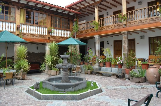 Hotel Rumi Punku: Room Faced This Courtyard