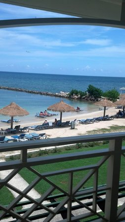 Sunscape Cove Montego Bay: from the beach front room