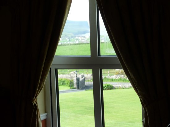 Aran View Country House: view from our room