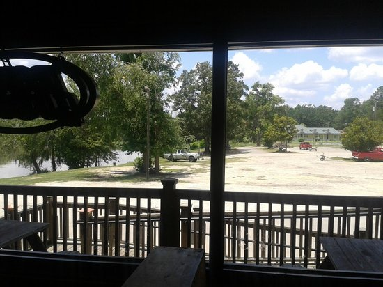 Benton Lee's Steak House: View from the dining room