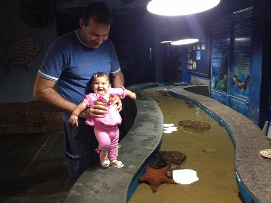 Ubatuba Aquarium: A família se diverte!