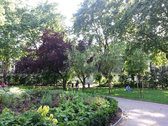 Tavistock Hotel: park