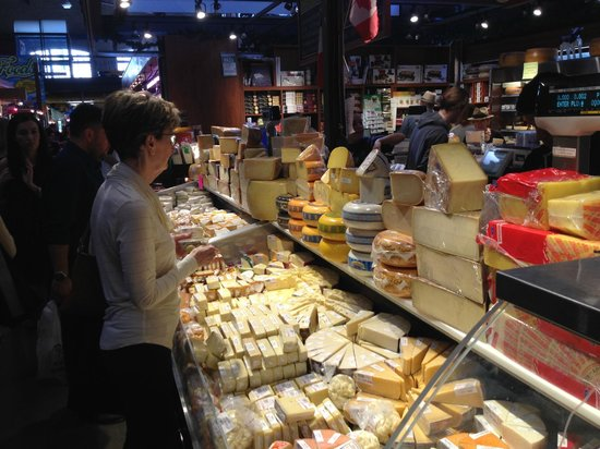 St. Lawrence Market: Tons of cheese