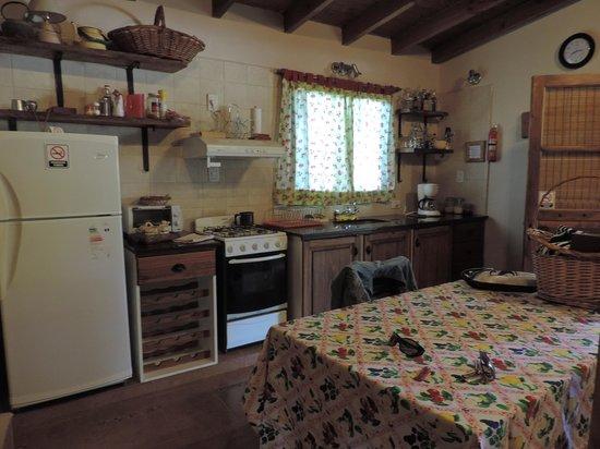 Finca Ogawa: Gran cocina