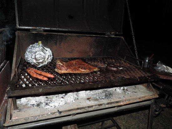 Finca Ogawa: Un asado para la cena