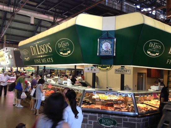 St. Lawrence Market: Large selections of meats
