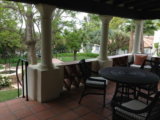Belmond El Encanto : Wishing Well Cottage patio