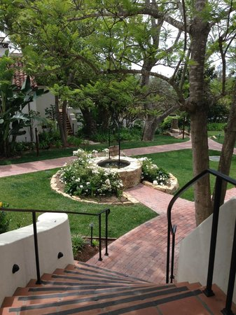 Belmond El Encanto : View from Wishing Well Cottage