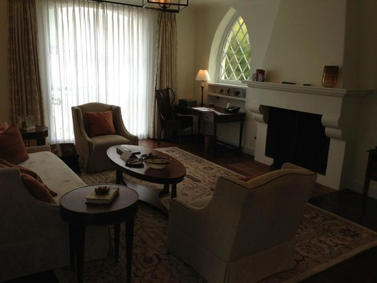 Belmond El Encanto: Living room