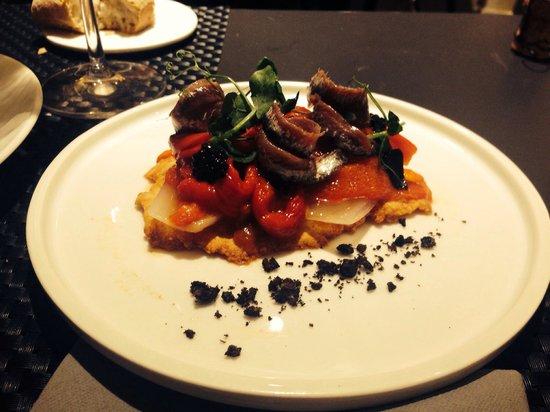 Restaurant Dvisi: Anchovies