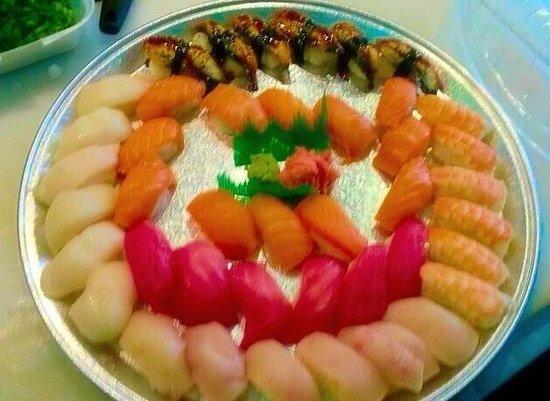 Han the Sushi Man : To go Nigiri Platter 46.99