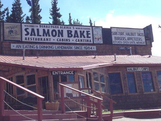 Denali Park Salmon Bake: Salmon Bake