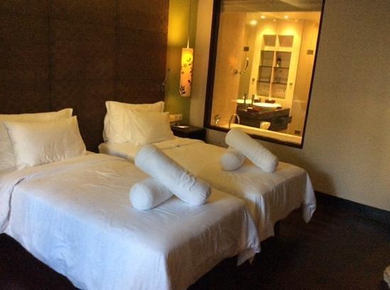 Pullman Bali Legian Nirwana : standart of twin bed