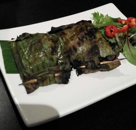 The Malaya: Otak Otak - Entree