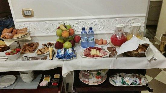 Locanda del Sole Luxury Suite Rome: Outstanding Breakfast