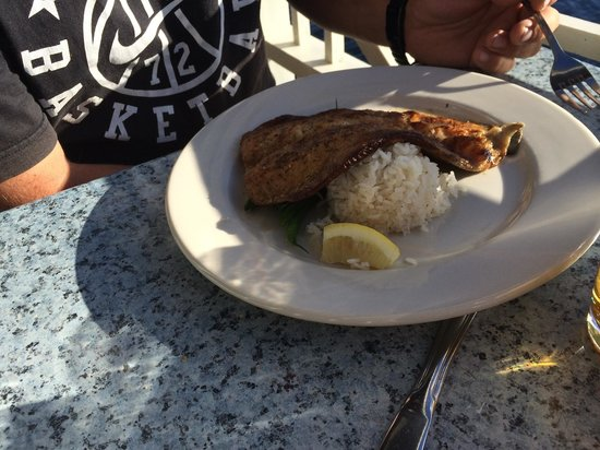 Boat House Restaurant at Lake Placid Club: Trout