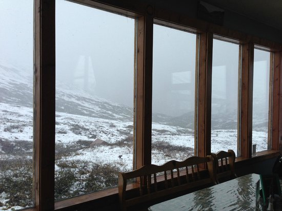 Hatcher Pass Lodge : View from the cafe