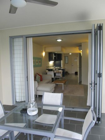 Peppers Airlie Beach: 1 bedroom spa apartment