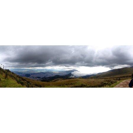 Teleferico Quito : Panorámica