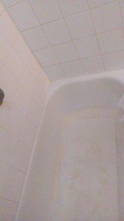 Comfort Inn & Suites At Talavi : dirty tub