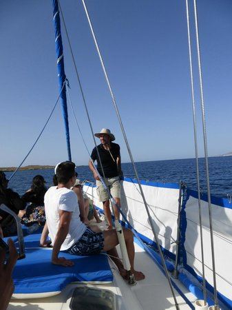 Ciudad de Naxos, Grecia: Captain Panos