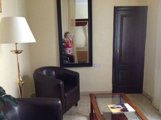 Hotel Born : sitting area