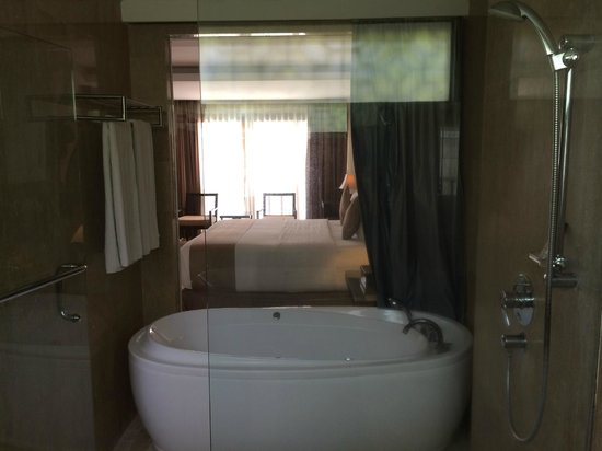 Villa Kayu Raja: Jacuzzi Bathub