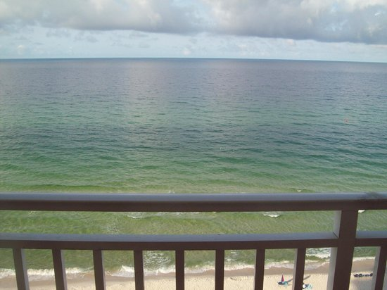 Splash Resort Condominiums Panama City Beach: View from the balcony