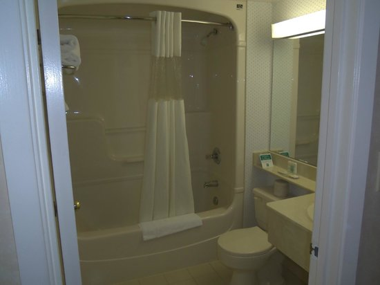 Quality Hotel & Suites Airport East : Tub with new liner