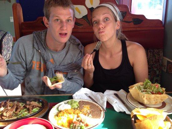El Puerto de Angeles: Mexican Food and Kids never fail.