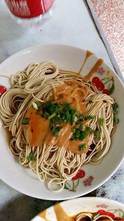 UnTour Shanghai Food Tours: Noodles with peanut and sesame sauce