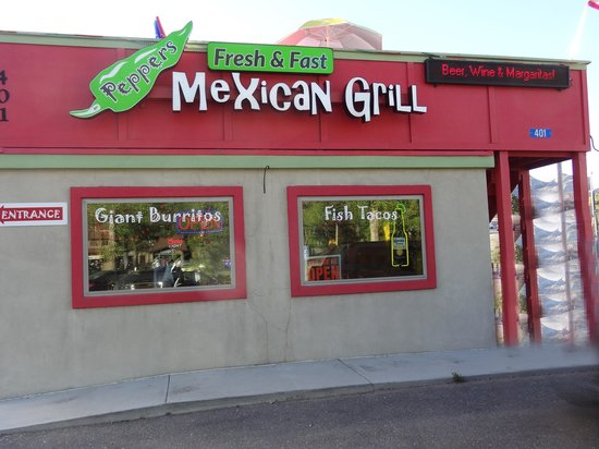 Peppers Mexican Grill: You can't Miss the Sign!