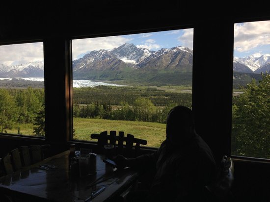 Long Rifle Lodge: View from our table