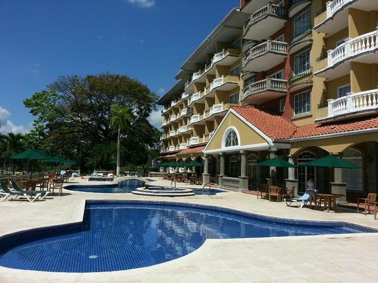 Country Inn & Suites by Radisson, Panama Canal, Panama: pool area 2