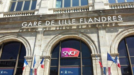 Entrance picture of gare lille flandres lille tripadvisor - Cabinet d ophtalmologie des flandres lille ...