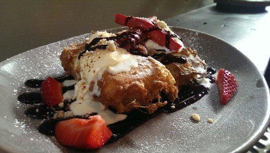 The Gunshop Cafe: Brioche French toast